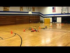 Star Wars Throwing Game and Relay Races.