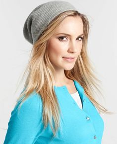 Ann Taylor - AT New Arrivals - Cashmere Slouchy Hat