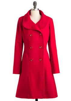 Ferry Tale Coat, #ModCloth  Love this coat :)
