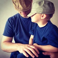 Hats (me and my son)