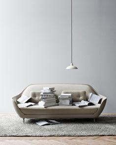 favn sofa by jaime hayón for fritz hansen.