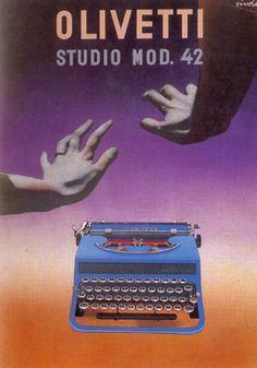 Pubblicità Olivetti studio 42, 1937