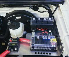 Add on auto fuse blocks and power switch.