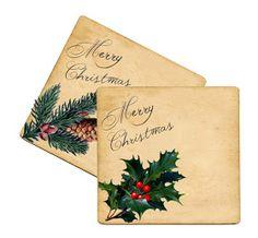 Wild@heart: Friday freebie - Merry Christmas tags