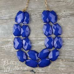 The Genevieve Double Layer Gem Chunky by ShopBellsNWhistles