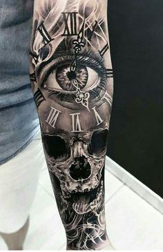 Best Tattoo Arm Full 22 Ideas tattoo old school tattoo arm tattoo tattoo tattoos tattoo antebrazo arm sleeve tattoo Full Arm Tattoos, Small Forearm Tattoos, Arm Tattoos For Guys, Trendy Tattoos, Leg Tattoos, Body Art Tattoos, Cool Tattoos, Tattoos Pics, Skull Sleeve Tattoos