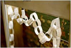 music sheet paper chain