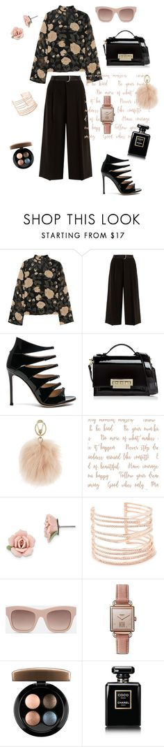 """Rose"" by margoucha ❤ liked on Polyvore featuring Ganni, Weekend Max Mara, Gianvito Rossi, ZAC Zac Posen, Furla, 1928, Alexis Bittar, STELLA McCARTNEY, Shinola and MAC Cosmetics"