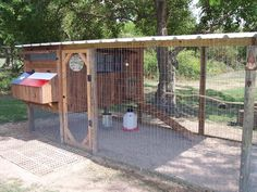 I think we have just enough space to build this and have some chickens...This is a nice chicken coop.