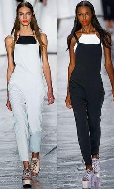 "EL NUEVO CAPRICHO: LOS ""OVERALLS""  #moda #fashion #overalls"