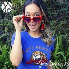 Mais uma foto linda e inspiradora da @itsrenataferraz do @gettrendyblog com nossos #brincos de #melancia da #ColeçãoCarmen para o #ShowDaKatyPerry que aconteceu ontem aqui em #Sampa ❤️❤️ Estes brincos e outros disponíveis em nosso #ecommerce  #KatePerryBrasil #PrismaticWorldTour #KatyCat #JoãoSebastiãoBijoux #Fashion #MadeInBrazil #Tropical #Pop