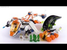 LEGO Mars Mission MX-71 Recon Dropship from 2007! set 7692 - YouTube