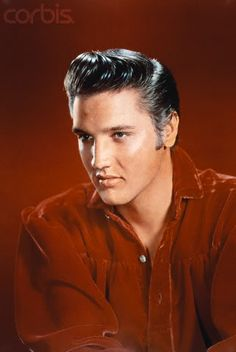 "Photo shoot for ""Love Me Tender"" (20th Century Fox) and other publicity purposes.  According to the photographer, the first shoot was on September 4th but it wasn't a ""success"" since Elvis had been in the recording studio the whole weekend cutting records and was so tired he almost fell asleep during the shoot. He was sent home after some shots and another shoot was held a day or two later.  September 4-6, 1956. Photographer; Frank Powolny"