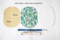 Cosmetic Bag of Linen Tutorial Small Quilt Projects, Quilting Projects, Sewing Projects, Diy Makeup Bag, Small Makeup Bag, Makeup Ideas, Sew Wallet, Simple Wallet, Zipper Pouch Tutorial