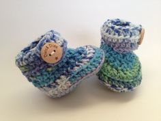 Hey, I found this really awesome Etsy listing at https://www.etsy.com/listing/183385022/crochet-baby-booties-great-babyshower