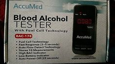 AccuMed Alcohol Tester   Consumer Electronics, Gadgets & Other Electronics, Breathalyzers   eBay!