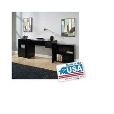 3 Piece Office Computer Workstation Laptop Desk Storage Bookcase & Cabinet NEW