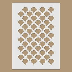 Plastic stencil - stencil sheet size Material: 125 micron Polyester Mylar stencil film - flexible and easy to clean. This stencil is made from plastic. For example: stencil painting, bodypainting. Mermaid Room, Mermaid Diy, Fish Scales, Mermaid Scales, Stencil Patterns, Stencil Designs, Art Café, Stencils, Fish Stencil