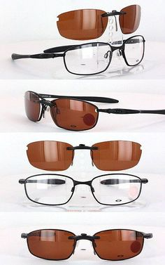 Other Vision Care: Custom Fit Polarized Clip-On Sunglasses For Oakley Blender-6B Ox3162 55X17 3162 -> BUY IT NOW ONLY: $58.88 on eBay!