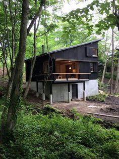 Hiruzen Villa, Satoshi Irei. 蒜山山荘, 伊礼智.