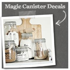 Magic Canister Decals