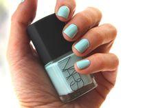 30 Gorgeous Fall Nail Colors You Should Definitely Try Sky Blue Nails, Grey Matte Nails, Nail Manicure, Diy Nails, Polish Names, Ring Finger Nails, Winter Nails, Fall Nails, Fall Nail Art Designs