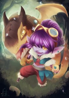Dragon Trainer Tristana - League of Legends