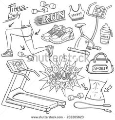 Hand Draw Sport Photos et images de stock | Shutterstock