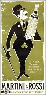 Vintage advertising posters | Martini