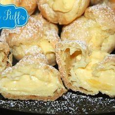 Cream Puffs Recipe - Real Housemoms & ZipList