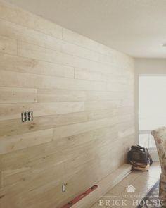 Shiplap Walls: The Cheap & Easy Way Home Renovation, Home Remodeling, Cheap Home Decor, Diy Home Decor, Decor Room, Plank Walls, Wood Walls, Hemnes, Ship Lap Walls