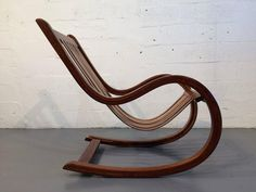 Studio Crafted Rosewood Rocking Chair Rocker, Mexico  2