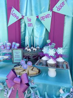 Frozen Movie Night Party Ideas | Photo 4 of 12 | Catch My Party