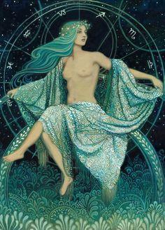 'Asteria - Goddess of the Stars' Greek Mythology.