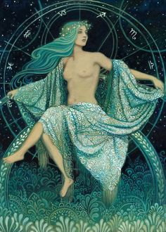 'Asteria - Goddess of the Stars' Greek Mythology.