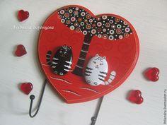Мастерим оригинальную ключницу «Первое свидание» - Ярмарка Мастеров - ручная работа, handmade
