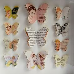 DIY, paper, papir, ferie, kreativ, saks, interior, brugskunst, papirpynt, sommerfugl, indreting, boligcious, indretningsekspert, konsulent, ...