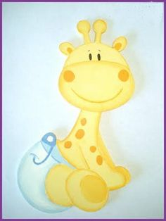 2011 mayo « Mi Lugar… Deco Baby Shower, Baby Shower Giraffe, Baby Shower Cakes, Diy Embroidery, Machine Embroidery, Art Web, Baby Painting, Baby Shawer, Kids Pages