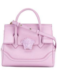 Versace for Women - Designer Clothing Gianni Versace, Versace Pink, Versace Bag, Tote Handbags, Purses And Handbags, Leather Handbags, Luxury Handbags, Pink Tote Bags, Crossbody Tote