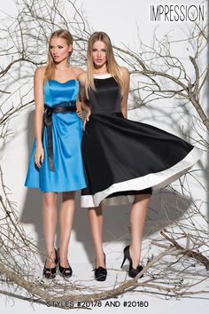 Spring 2014 Impression Bridesmaids dresses #bridesmaids We have the one on the right instore www.elegantbridalauburn.com
