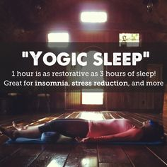 """Have you guys heard of """"yogic sleep""""? It's a practice that can help with stress, insomnia, anxiety, and more. I'm so excited to try it, wanna do it with me? Here's Anna with the details… One of the most challenging aspects of motherhood for me has been finding ways to quiet my mind. I hate …"""