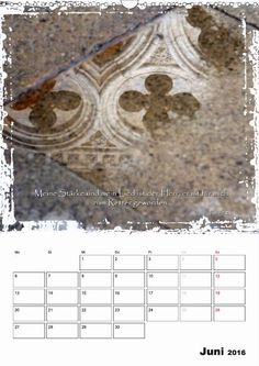 Kalender - Christliche Monatssprüche - Juni