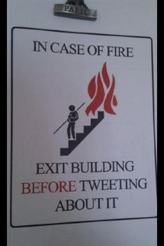 There are stupid people who would need this advice.