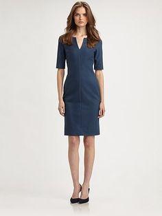 Work dress. Diane von Furstenberg Aurora Sheath Dress