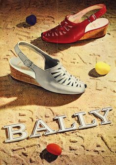 Poster by Werner Bischof | Bally 1944