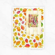 Fall Foliage Stamp & Stencil Combo
