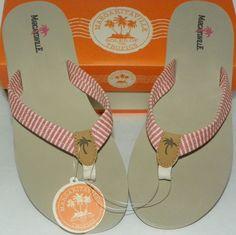 e7889611200b Women s Sz 11 Flip-Flops Sandals Margaritaville Coral Aruba Beach Classics  NIB  Margaritaville  FlipFlops
