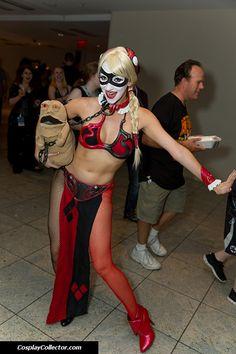 Harley Quinn / Princess Leia #Mashup #StarWars #HarleyQuinn #PrincessLeia #Cosplay