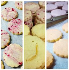Fruit flavoured biscuits for wedding favours