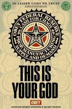 """SHEPARD FAIREY Obey Giant Sticker 2.5/"""" CIRCLE RED ANDRE LOTUS from poster print"""